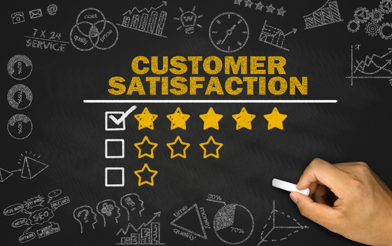 improving customer satisfaction Improve your product or service with these simple and effective customer satisfaction measurements good customer service essential, you know that.